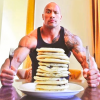 "Classic pancakes recipe VS protein recipe ""THE ROCK"""